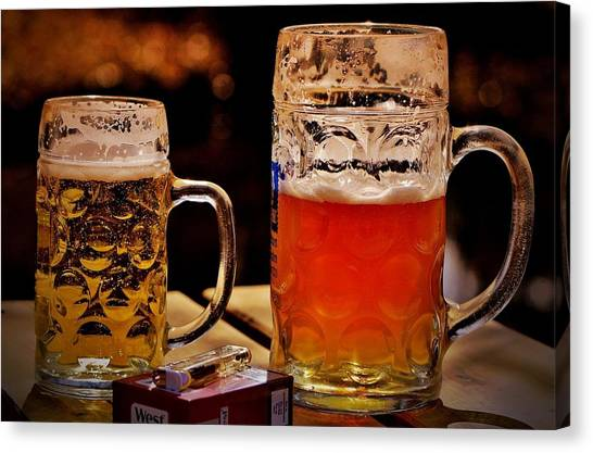 Lager Canvas Print - Beer by Maye Loeser