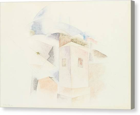Precisionism Canvas Print - Bermuda No. 4 by Charles Demuth
