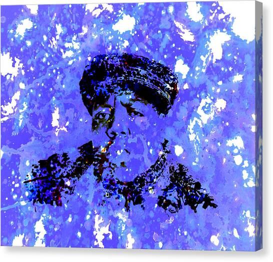 Wu Tang Canvas Print - Biggie Smalls by Brian Reaves