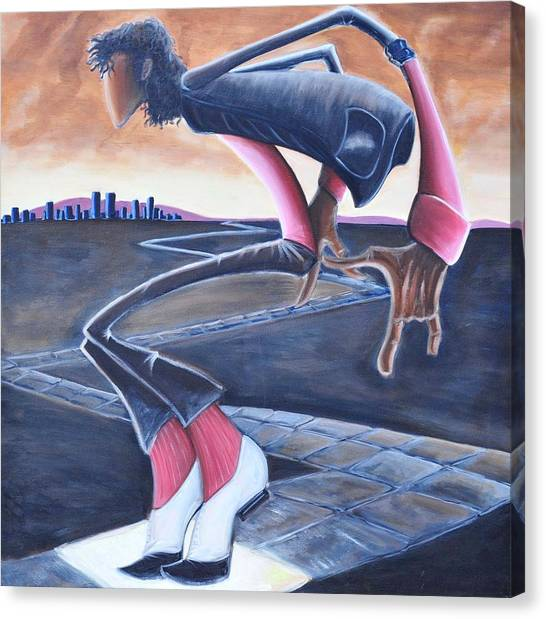 Billie Jean Canvas Print
