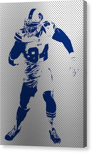 Buffalo Bills Canvas Print - Bills Mario Williams by Joe Hamilton