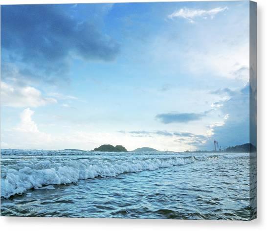 Binh Hai Beach, Quang Ngai Canvas Print