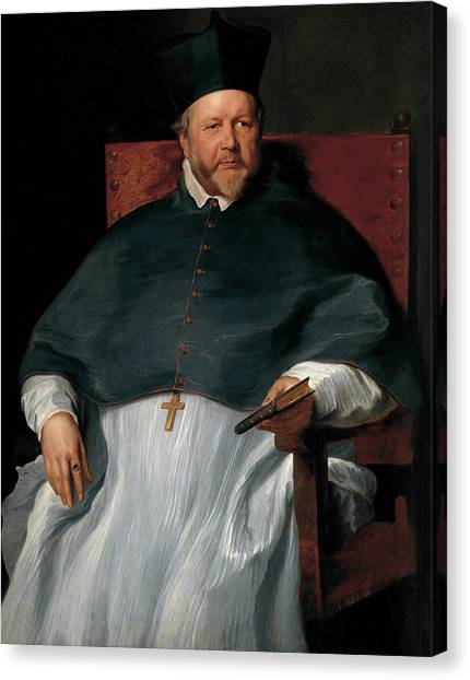 Bishops Canvas Print - Bishop Jan Van Malderen by Anthony van Dyck