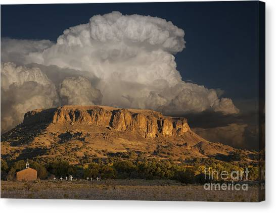 Black Mesa Canvas Print