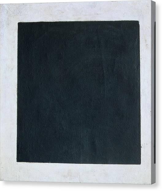Suprematism Canvas Print - Black Square by Kazimir Malevich