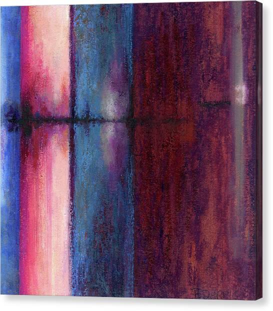 Blue Barrels II Canvas Print