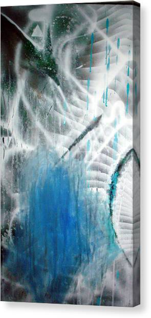 Blue Canvas Print by Leigh Odom