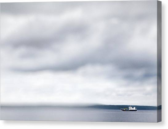Boat #9224 Canvas Print