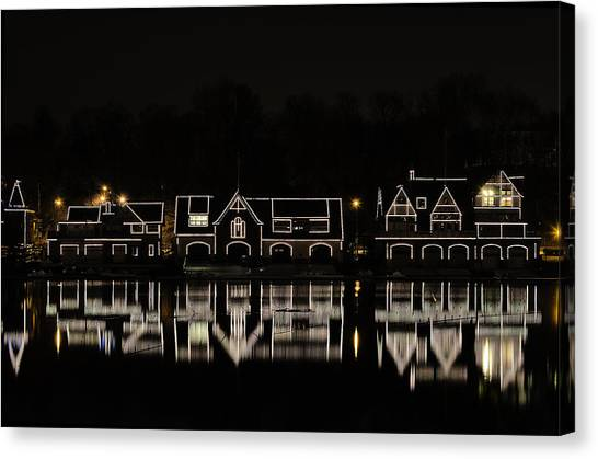 Boathouse Row - Philadelphia Canvas Print