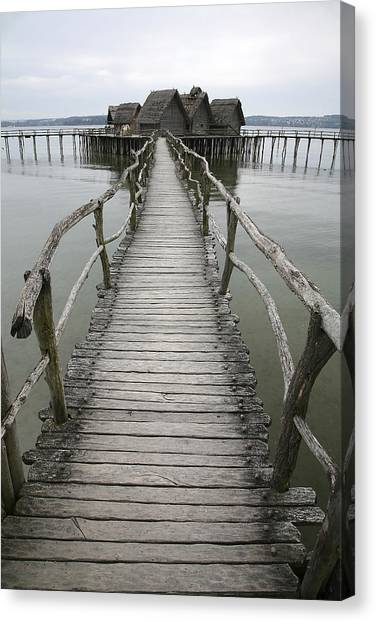 Bodensee Walkway Canvas Print