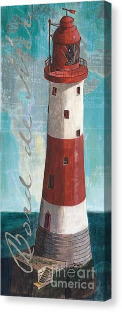 Seashore Canvas Print - Bord De Mer by Debbie DeWitt