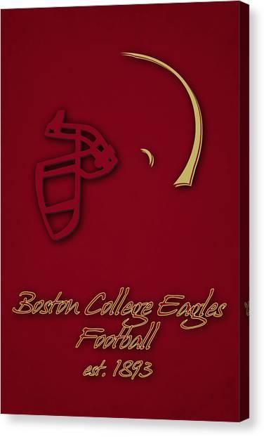Boston College Canvas Print - Boston College Eagles by Joe Hamilton