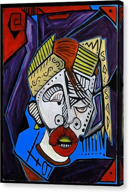 Boxing Death 40x30 Canvas Print