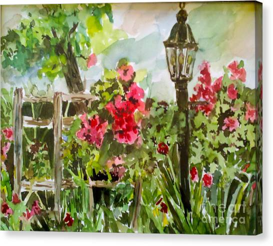 Brazos Gardens Canvas Print