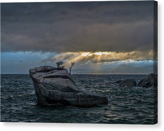 Breaking Light Canvas Print