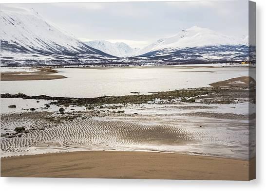 Breivik Nature Reserve Troms Norway Canvas Print