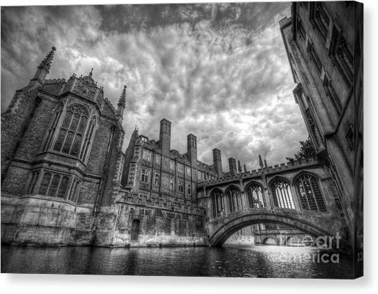 Bridge Of Sighs - Cambridge Canvas Print