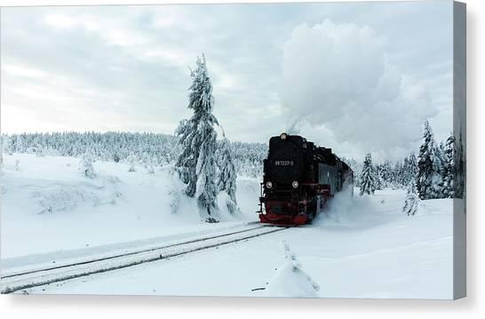 Brockenbahn, Harz Canvas Print