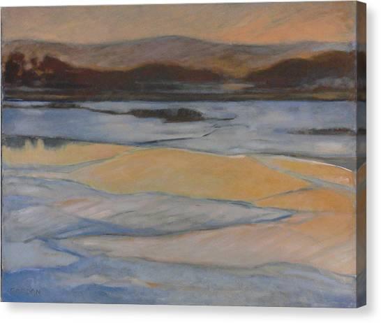 Canvas Print - Broken Ice by Kim Gordon