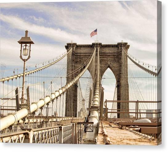 Brooklyn Bridge I Canvas Print