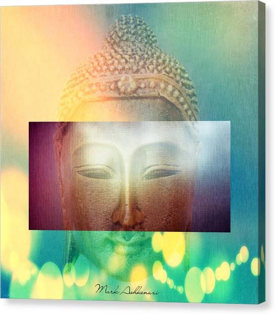 Buddha Canvas Print - Buddha by Mark Ashkenazi