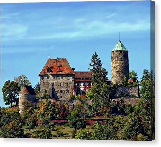 Burg Colmberg Canvas Print