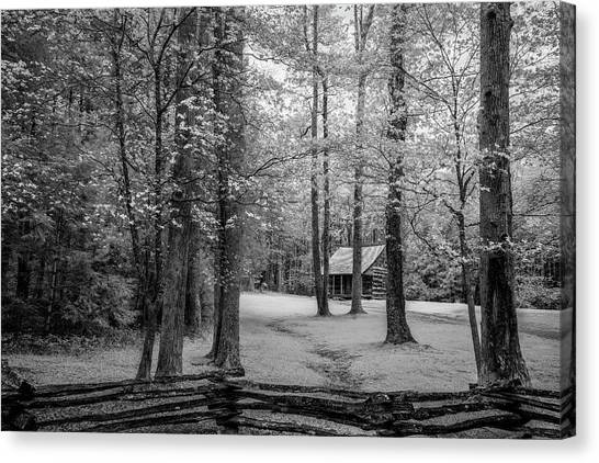 Cabin In Cades Cove Canvas Print