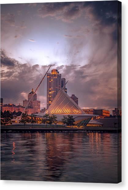 Calatrava Drama Canvas Print