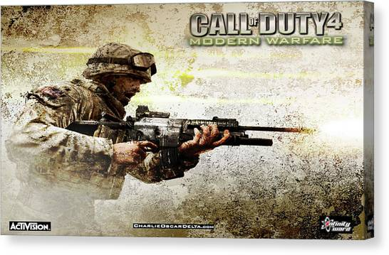 Screwdrivers Canvas Print - Call Of Duty 4 Modern Warfare by Maye Loeser