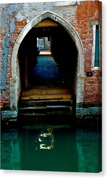 Canal Entrance Canvas Print