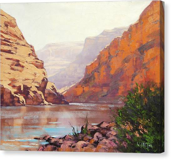 Utah Canvas Print - Canyon River  by Graham Gercken