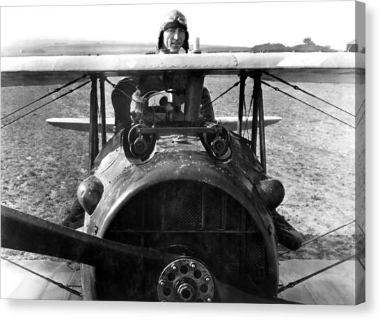 Air Force Canvas Print - Captain Eddie Rickenbacker  by War Is Hell Store