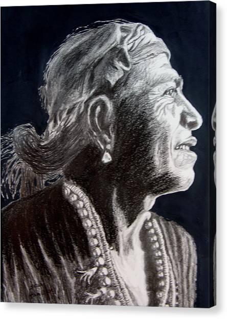 Carl Moon Canvas Print by Stan Hamilton