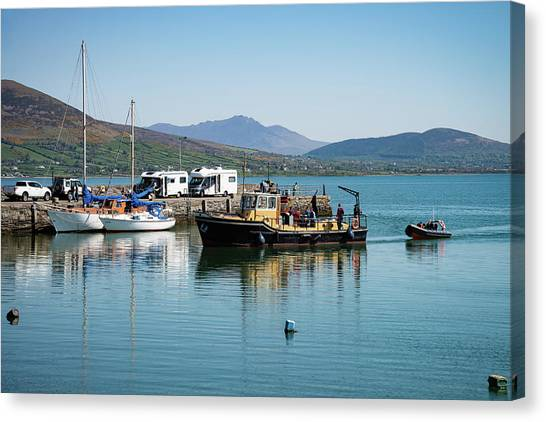 Carlingford Lough Canvas Print