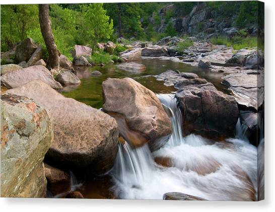 Castor River Shut-ins Canvas Print