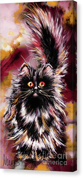 Persians Canvas Print - Cat 1 by Melanie D
