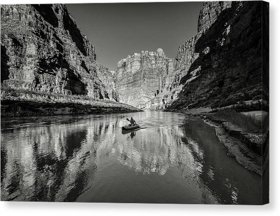 Cataract Canyon Canvas Print