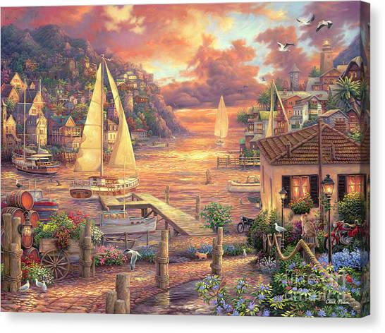 Imaginative Canvas Print - Catching Dreams by Chuck Pinson