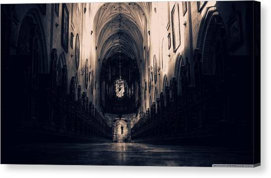 Vault Canvas Print - Cathedral by Mariel Mcmeeking