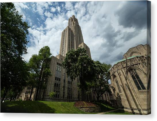 Horizon League Canvas Print - Cathedral Of Learning by Beau Finley
