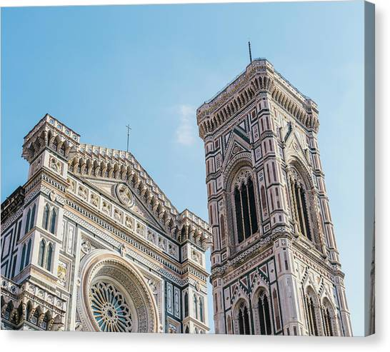 Cattedrale Di Santa Maria Del Fiore Is The Main Church Of Floren Canvas Print