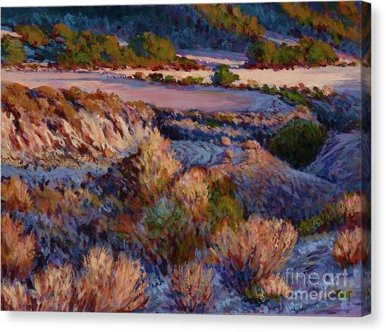 Cebada Canyon Blues Canvas Print