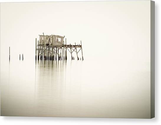 Cedar Key Structure Canvas Print