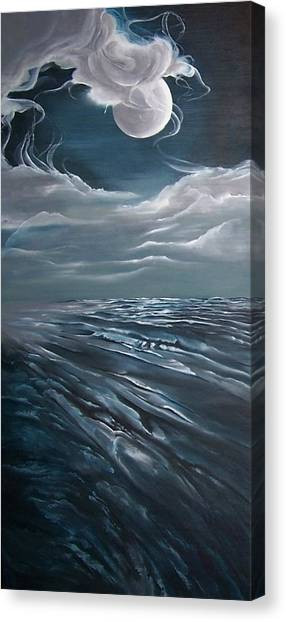 Changing Tide Canvas Print by Kathleen Romana
