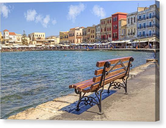 Crete Canvas Print - Chania - Crete by Joana Kruse