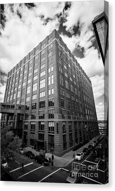Nabisco Canvas Print - Chelsea Market Office Building And Television Production Facility New York City Usa by Joe Fox