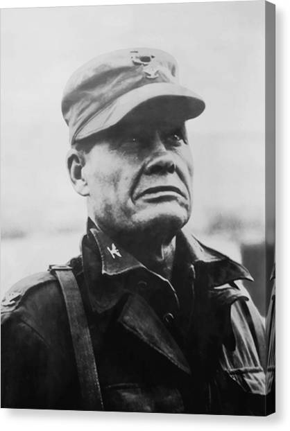 Soldiers Canvas Print - Chesty Puller by War Is Hell Store