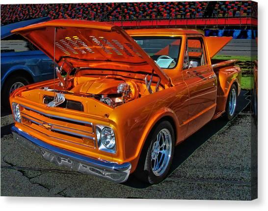 Chevy Stepside Canvas Print