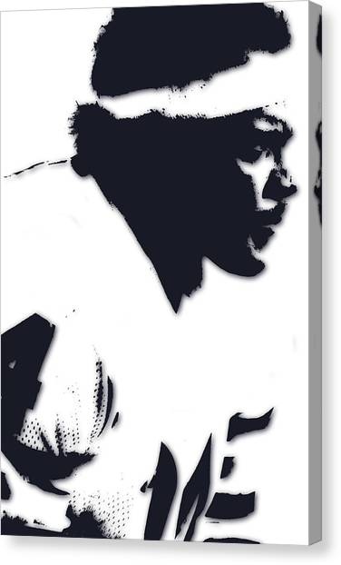 Walter Payton Canvas Print - Chicago Bears Walter Payton by Joe Hamilton