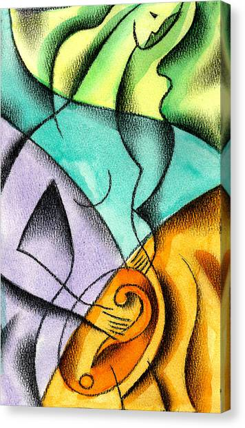 Abortion Canvas Print - Beginning by Leon Zernitsky
